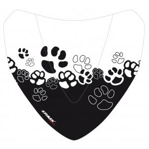 Black Cats silkscreen for nose screen