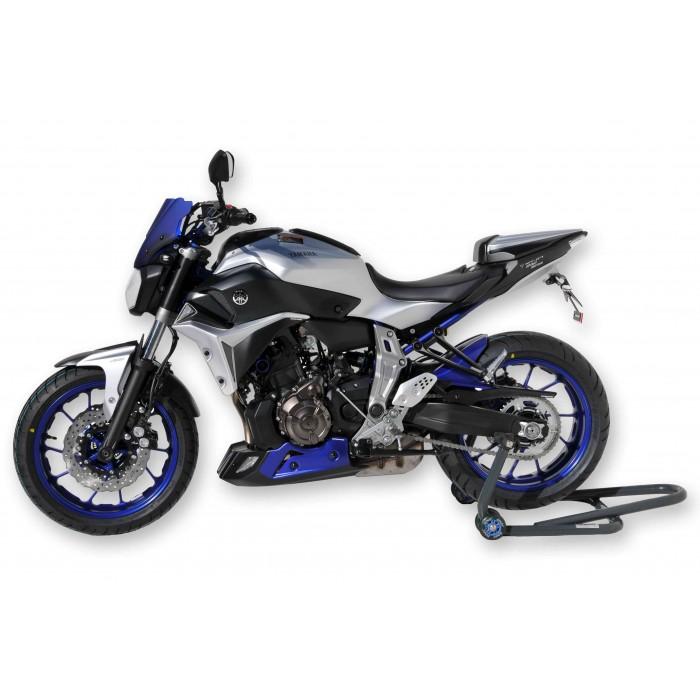 Adoolla Per Yamaha MT-09 FZ09 MT07 MT-07 35mm Fresco Moto CNC Alluminio Gas Gas Fuel Oil Tappo di copertura blu
