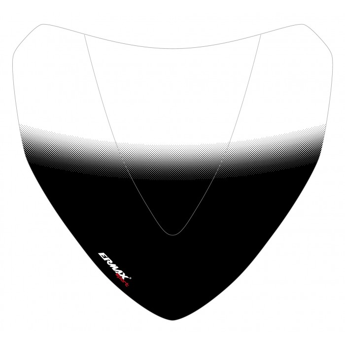 Black Frame silkscreen for nose screen