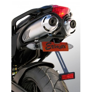 Support de plaque Ermax FZ6/FAZER/S2 2004/2010 Support de plaque Ermax FZ6N / FZ6 S2 2004/2010 YAMAHA EQUIPEMENT MOTOS