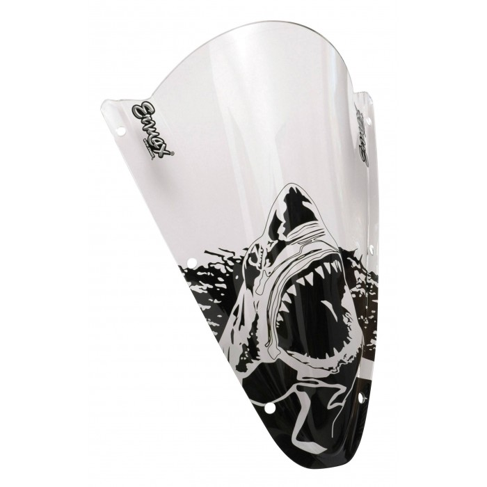 Black Sharks silkscreen for screen and windshield