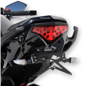 Ermax plate holder ER 6 F 2012/2015 Plate holder Ermax ER 6 F / NINJA 650 R 2012/2016 KAWASAKI MOTORCYCLES EQUIPMENT
