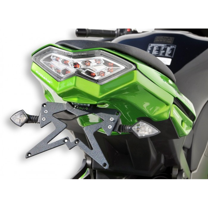 Support de plaque Ermax Z 1000 SX / NINJA 1000 2011/2015