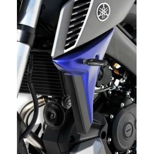 Ermax : escopas de radiator MT 125 Escopas de radiador Ermax MT-125 2014/2019 YAMAHA EQUIPO DE MOTO