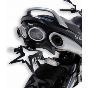 Ermax : Suporte de placa GSR 600 Suporte de placa Ermax GSR 600 2006/2011 SUZUKI EQUIPAMENTO DE MOTOS
