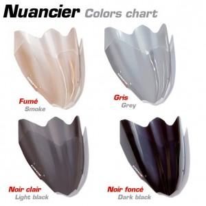 Mostruário de tonalidades de cores