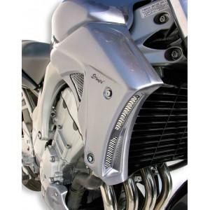 Ermax : escopas de radiador FZ6N Escopas de radiador Ermax FZ6N / FZ6 S2 2004/2010 YAMAHA EQUIPO DE MOTO
