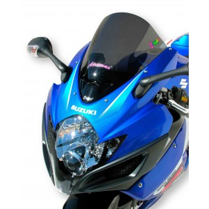 Ermax: screen GSXR 600/750 2006/2007 Aeromax ® screen Ermax GSXR 600/750 2006/2007 SUZUKI MOTORCYCLES EQUIPMENT