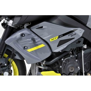 Ermax Radiator scoops MT10 Radiator scoops Ermax MT10 / FZ-10 2016/2020 YAMAHA MOTORCYCLES EQUIPMENT