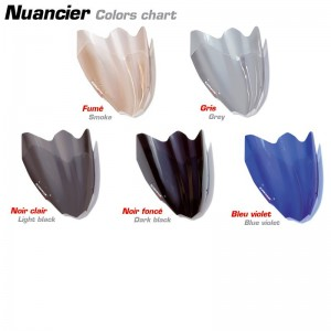 Mostruário de tonalidade de cores