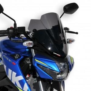 Ermax : Para-brisa GSX-S 125 Para-brisa esportivo GSXS Ermax GSX-R 125 / GSX-S 125 2017/2020 SUZUKI EQUIPAMENTO DE MOTOS