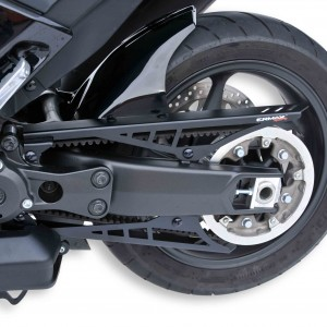 Rear hugger + belt covers T Max