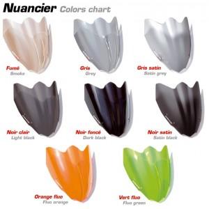 Colors chart