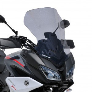 Ermax : high screen MT09 Tracer 2018/2019 High protection screen Ermax MT-09 TRACER / FJ-09 2018/2019 YAMAHA MOTORCYCLES EQUIPMENT