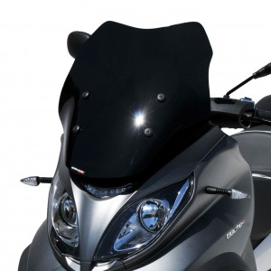 Ermax : sport screen MP3 HPE Sport windshield Ermax MP3 350/500 HPE (Sport-Business) 2018/2020 PIAGGIO SCOOT SCOOTERS EQUIPMENT