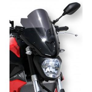 Ermax : Saute-vent MT 07 2014/2017 Saute-vent Ermax MT-07 / FZ-07 2014/2017 YAMAHA EQUIPEMENT MOTOS
