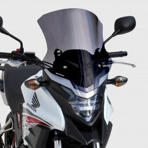 bolha tamanho de origem CB 500 X 2016/2018 Bolha tamanho de origem 16/18 Ermax CB500X 2013/2018 HONDA EQUIPAMENTO DE MOTOS