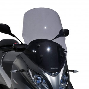high protection windshield MP3 350 et 500 HPE(Sport-Business) 2018 High protection windshield Ermax MP3 350 and 500 HPE (Sport-Business) 2018/2019 PIAGGIO SCOOT SCOOTERS EQUIPMENT