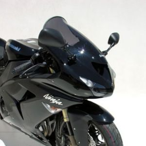 high protection windshield ZX 6 R/RR 2005/2008 & ZX 10 R 2006/2007 High protection screen Ermax ZX 6 R 2007/2008 KAWASAKI MOTORCYCLES EQUIPMENT