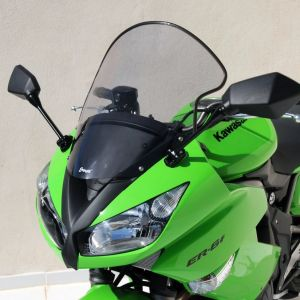 high protection windshield ER 6 F 2009/2011 High protection windshield Ermax ER 6 N/F 2009/2011 KAWASAKI MOTORCYCLES EQUIPMENT
