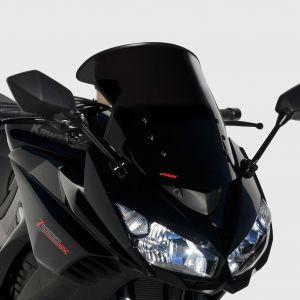 bolha tamanho de origem Z 1000 SX 2011/2016 Bolha tamanho de origem Ermax Z1000SX / NINJA 1000 2011/2016 KAWASAKI EQUIPAMENTO DE MOTOS