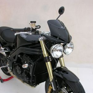 bolha de carenagem farol SPEED TRIPLE 1050 2005/2010 Bolha de carenagem farol Ermax 1050 SPEED TRIPLE 2005/2010 TRIUMPH EQUIPAMENTO DE MOTOS