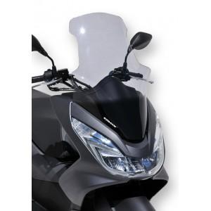 Ermax : Pare-brise haut PCX 2014/2018 Pare-brise haut avec protection de mains Ermax PCX 125/150 2014/2018 (sans ABS) HONDA SCOOT EQUIPEMENT SCOOTERS
