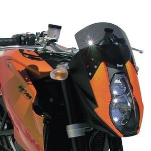 high protection windshield 990 SUPER DUKE 2006 High protection windshield Ermax 990 SUPER DUKE 2006 KTM MOTORCYCLES EQUIPMENT