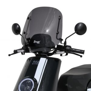 sport screen Niu NGT 2018/2019 Sport windshield Ermax Niu NGT 2018/2019 NIU SCOOT SCOOTERS EQUIPMENT