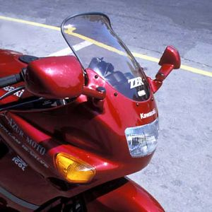 high protection windshield ZZR 600 90/92 High protection screen Ermax ZZR 600 1990/1992 KAWASAKI MOTORCYCLES EQUIPMENT