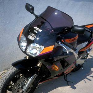 bolha proteção máxima FZR 1000 EXUP 94/95 Bolha alta 1994/1995 Ermax FZR 1000 1987/1995 YAMAHA EQUIPAMENTO DE MOTOS