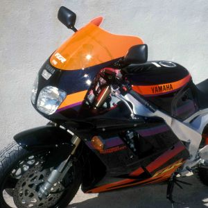 original size screen FZR 1000 EXUP 94/95 Original size screen 1994/1995 Ermax FZR 1000 1987/1995 YAMAHA MOTORCYCLES EQUIPMENT