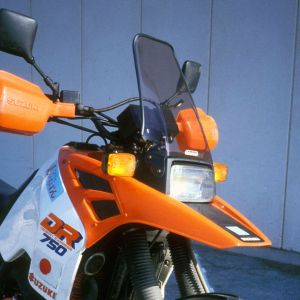 bolha proteção máxima DR 750/800 89/90 Bolha alta Ermax DR 750/800 1988/1990 SUZUKI EQUIPAMENTO DE MOTOS
