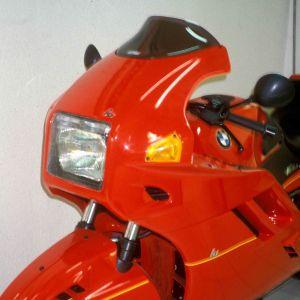 bolha proteção máxima K 1 89/93 Bolha alta Ermax K 1 1989/1993 BMW EQUIPAMENTO DE MOTOS