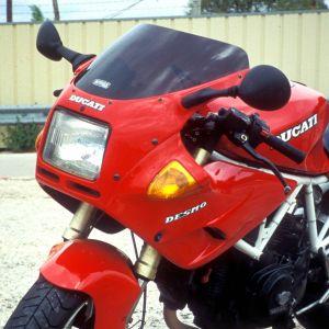 bolha tamanho de origem 600/750/900 SS 91/94 Bolha tamanho de origem 1991/1994 Ermax 600/750/900 SS 1991/1998 DUCATI EQUIPAMENTO DE MOTOS
