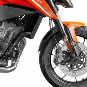 Faldón de guardabarros delantero 790 Duke 2018/2020 Faldón de guardabarros delantero Ermax 790 DUKE 2018/2020 KTM EQUIPO DE MOTO