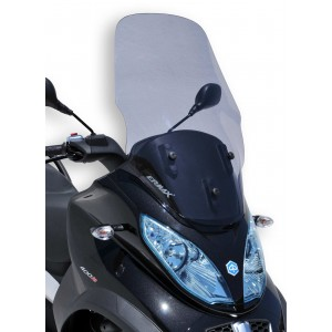 Ermax high windshield MP3 2011/2018 High windshield Ermax MP3 125/300/400/500/500IE TOURING 2011/2018 PIAGGIO SCOOT SCOOTERS EQUIPMENT