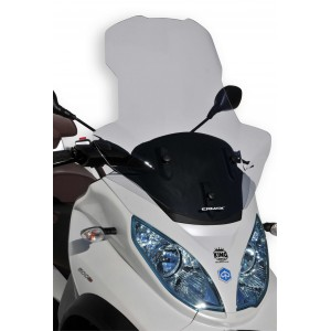 Ermax high windshield with hands protection MP3 2011/2018 High windshield with hands protection Ermax MP3 125/300/400/500/500IE TOURING 2011/2018 PIAGGIO SCOOT SCOOTERS EQUIPMENT