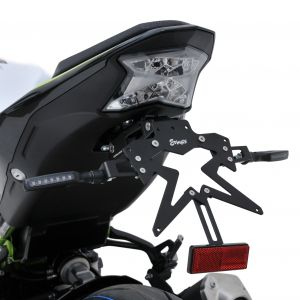 support de plaque aluminium Z900 2020 Aluminium plate holder Ermax Z900 2020 KAWASAKI MOTORCYCLES EQUIPMENT