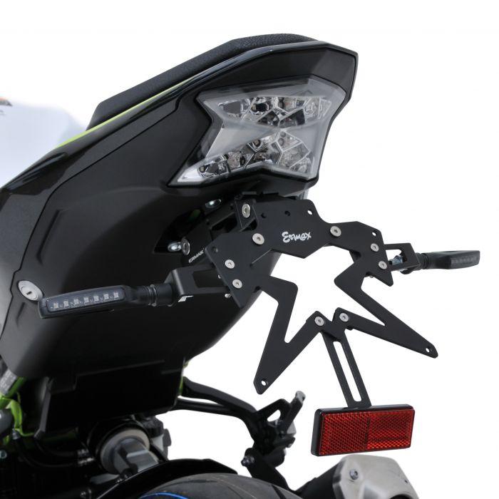 support de plaque aluminium Z900 2020