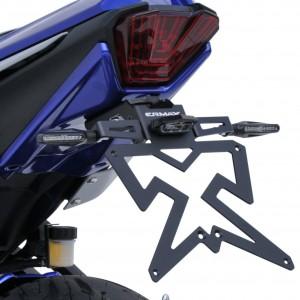 Aluminium plate holder MT07 (FZ 7) 2021 Aluminium plate holder Ermax MT-07 / FZ-07 2021 YAMAHA MOTORCYCLES EQUIPMENT