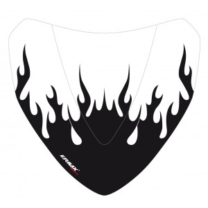 Black Flaming silkscreen for nose screen