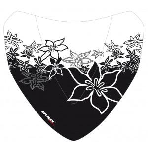 Sérigraphie Hawaïan Flower noire pour saute-vent