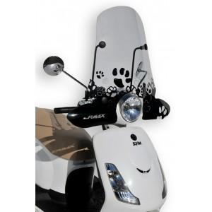 Sérigraphie Cats noire pour bulle et pare-brise