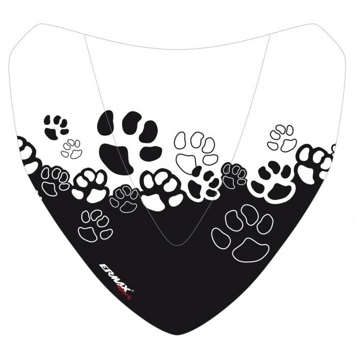 Sérigraphie Cats noire pour saute-vent