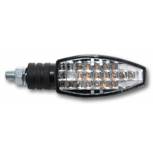 Blinkers n27 noirs Luces intermitentes N° 27 negras Ermax LUCES INTERMITENTES / INTERMITENTES LED ACCESORIOS UNIVERSALES Inicio