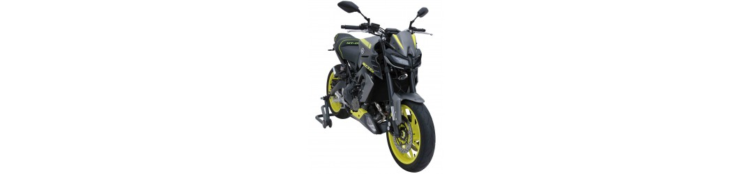 Ermax : accessoires Yamaha MT-09 2017/2018