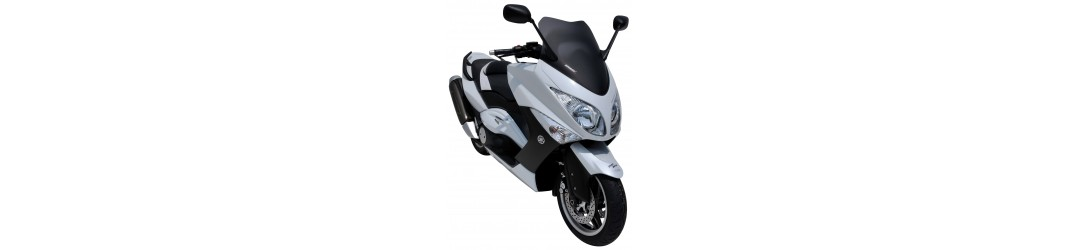 Ermax accessories for Yamaha 500 T Max 2008/2011