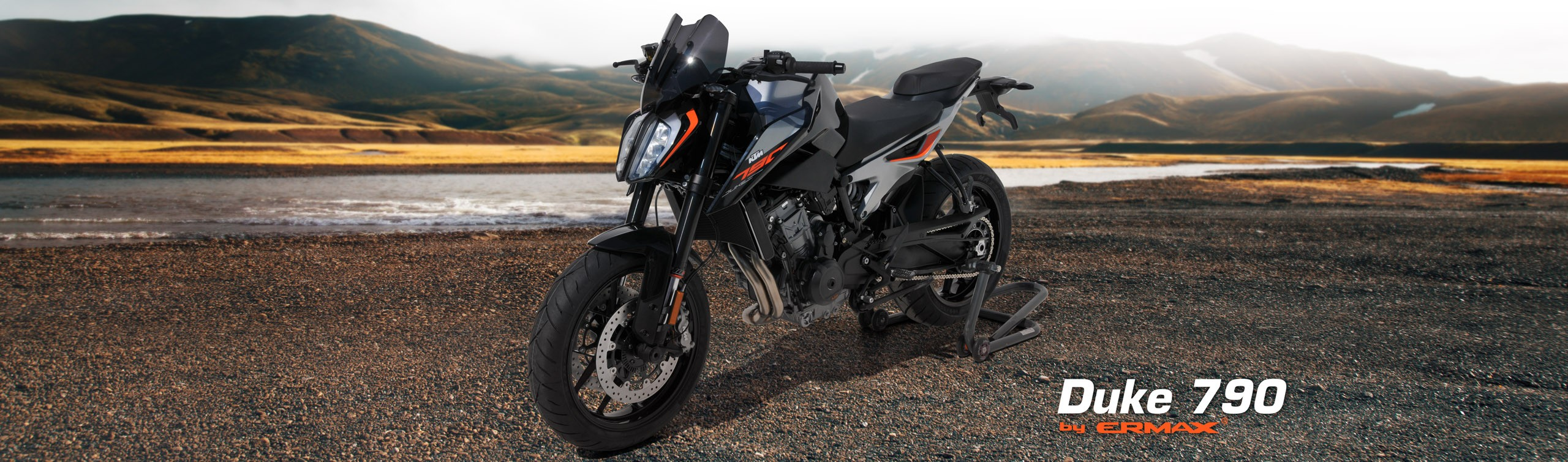 KTM 790 Duke by Ermax